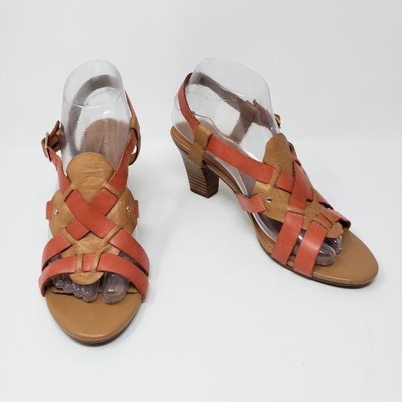 Clarks Artisan Tige De Cuir Leather Sandals